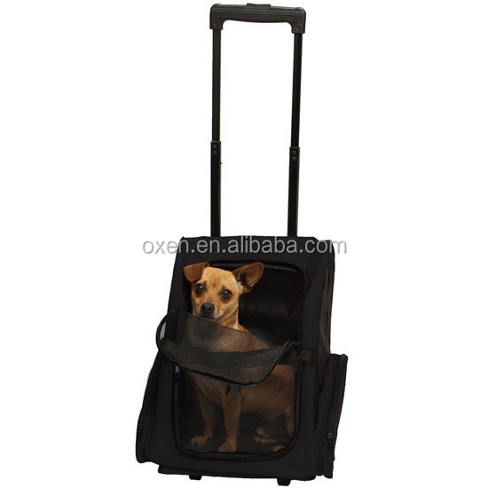 Pet Carrier for Dogs & Cats Comfort Draw-bar Pet Carrier For Travelling (convenient)