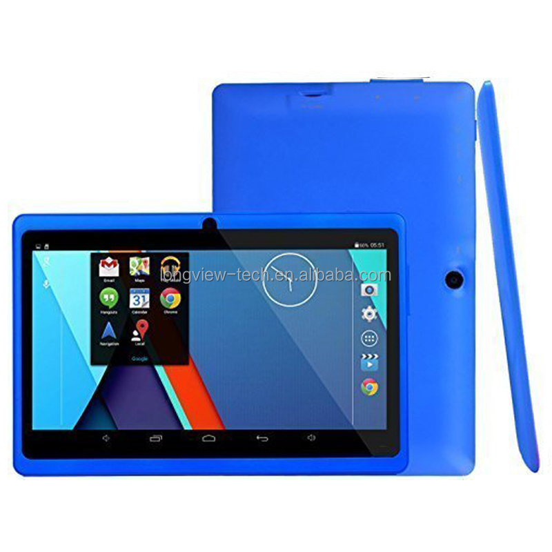 2015 Hot Wholesale Cheapest All winner A33 Quad Core Android Tablet PC Q88 7 inch tablet pc