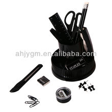 Black Color Economic Quality Plastic Desk Organizer.