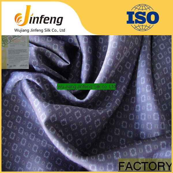 polyester satin chiffon fabric/silk-like fabric/stock printing imitation silk fabric
