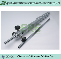 Galvanized ground screw pole anchor for building foundation made in china