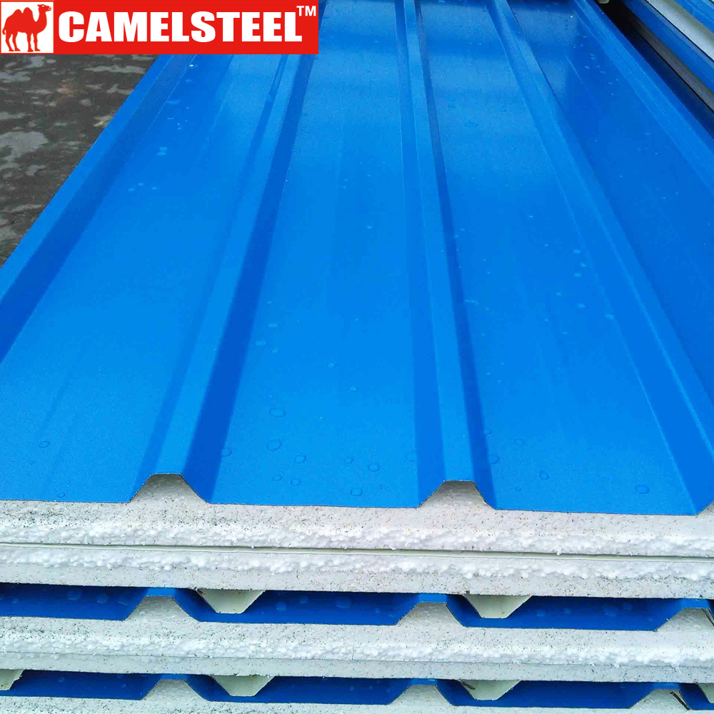Shandong High Zinc Coating Sand Coated Metal Roofing Tiles