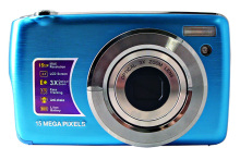 max 15mp still digital camera with 2.7'' TFT display and 3x optical zoom camera