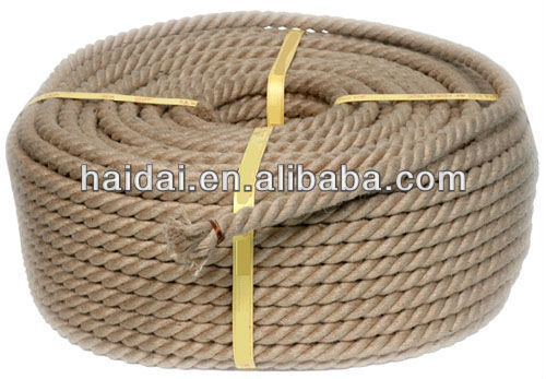 3-strand Hemp Twisted Rope For Sale