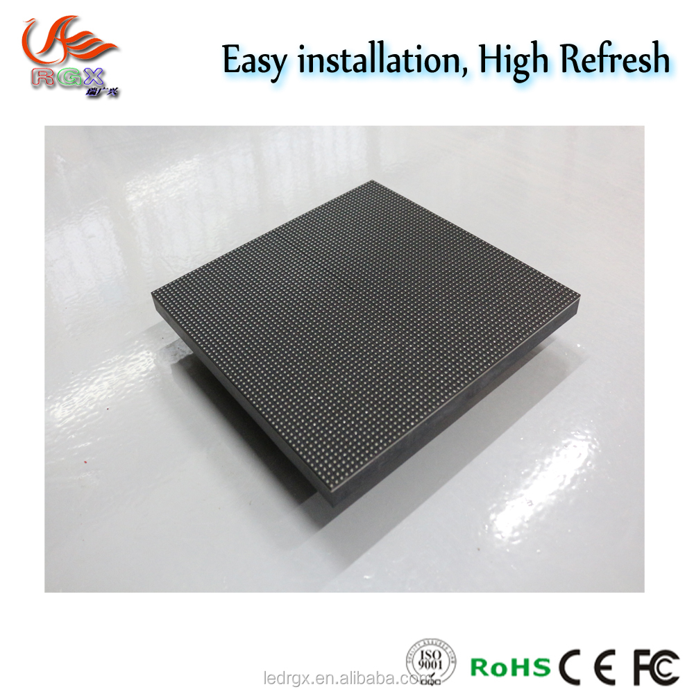 Energy - saving LED Video Display P3.91 Indoor Rental Stage LED Screens module with free software system