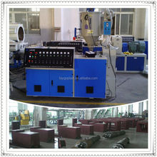 hdpe pipe extrusion line gmp20 1600mm pvc film extruder
