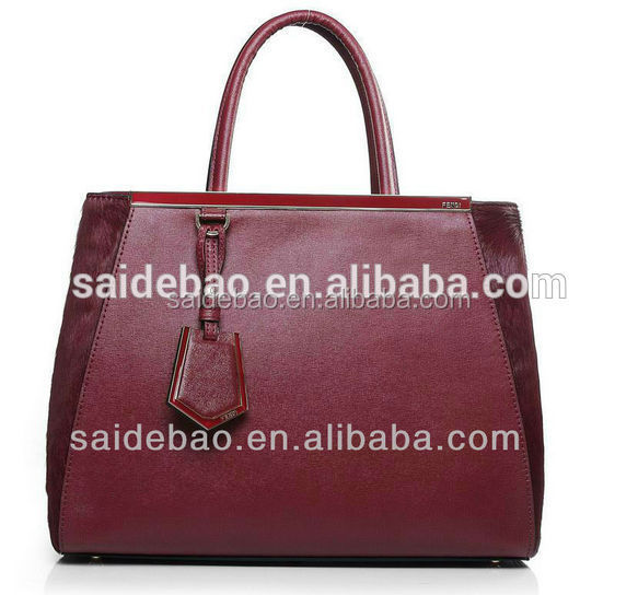 Cheap Wholesale New Trendy Fashion PU leather handbag for ladies