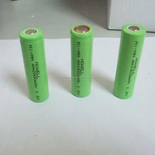 2/3A 1200mah 1.2v nimh battery pack