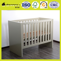 Wooden crib bed furniture baby cot bed prices