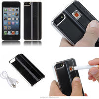 Cigarette Lighter Phone Case For iPhone 5 Battery Charging Power Case, For Apple iPhone 5 battery case