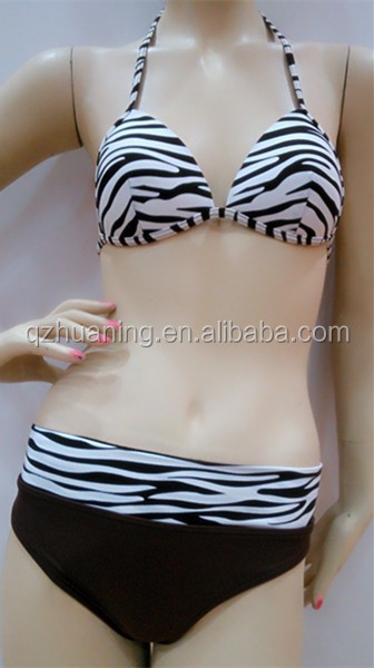 fashion animal print hot brazil sex girl bikini