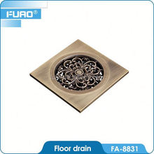 FUAO High quality goods kitchen floor drains