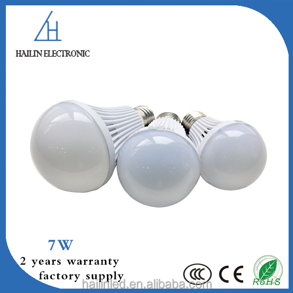 smart 7w led bulb light with CE RoHs approved