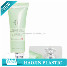 Round Plastic Cosmetic Container Small Cosmetic Plastic Soft Tubes