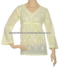 Bollywood or Hollywood Style Lucknow Chicken Kurta