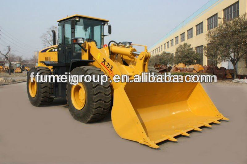 5ton ZL50F big wheel loader for sale
