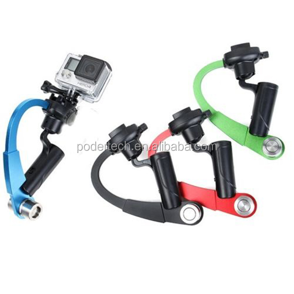 Popular Curve Go pro Stabilizer For All Go Pro Heros 4/3+/3/2/1, Gopros Stabilizer grip GP222