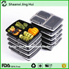 Reusable microwave safe stackable Meal Prep Plastic Food Container