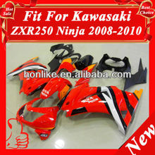 Fairings Kits for Kawasaki Ninja 250R EX 250 2008 2009 2010 2011 EX250 ZX250R 08 09 10 11 ABS Plastic Motorcycle Fairings Red