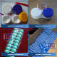 custom abs/pp/pe/nylon plastic injection molded products and parts contact lens case/box mould