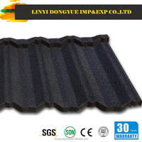 wall side flashing/blue roofing shingles/stone coated metal roof tile