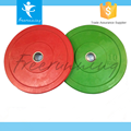 Gym Power Training Colorful Natural Rubber Bumper Plate