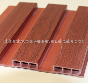 Wood Plastic Composite WPC Wall Panels/Low maintenance costs wpc wood plastic composite exterior wall cladding
