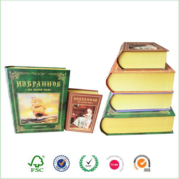 Wholesale Book Shaped Candy Gift Fake Box