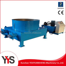 Waste paper scrap recycling wrapping machine