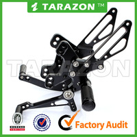 CNC Adjustable Motorcycle Rear Sets For Kawasaki Ninja Z1000 SX