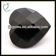heart black Cubic Zirconia uncut rough diamonds for sale