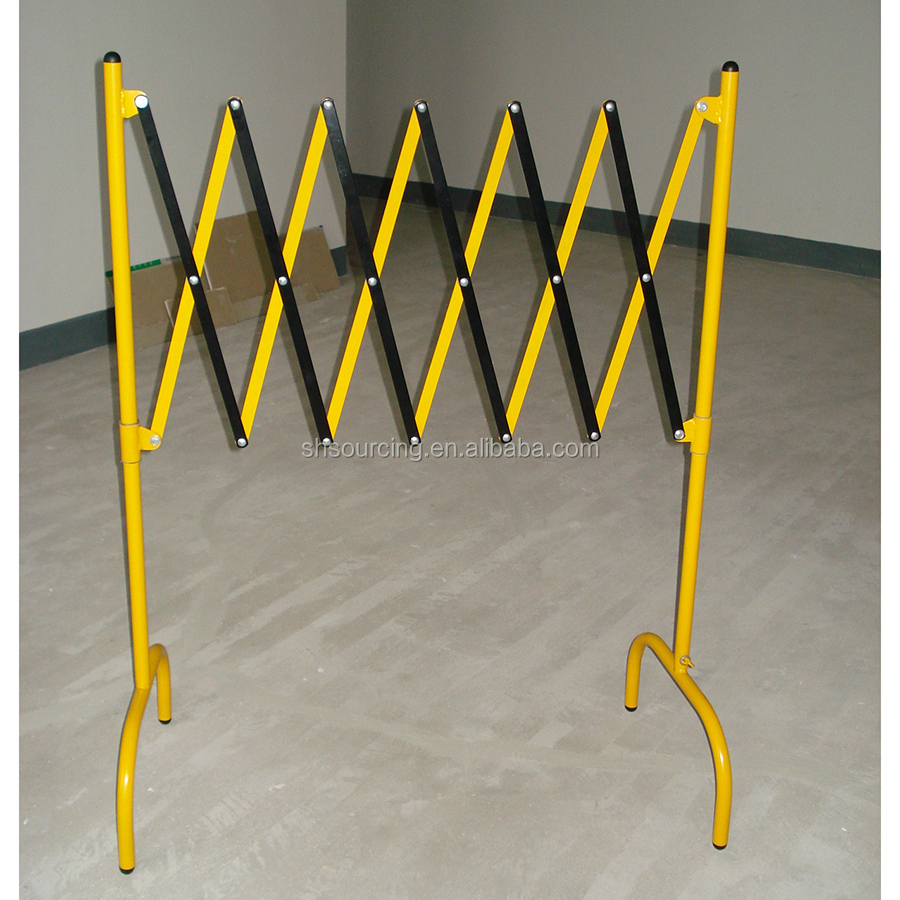 crowd control barrier,construction barriers,expandable safety barrier
