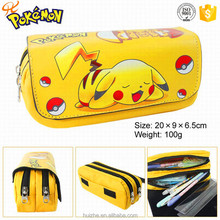 Fashion pokemon zipper pencil case/ pencil bag china supplier