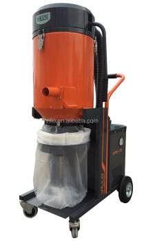Vacuum Cleaner for Concrete Floor equipped with HEPA 13 Filter and Anti-static Hoses