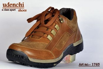 casual OILPULLUP LEATHER SHOE AIRMIX SOLE
