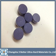 PDC Cutter,Half Circle PDC Cutter with PDC layer and carbide