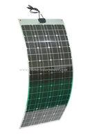 2015 New design 12V semi flexible solar panel 100W 120W