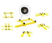 Best seller angle-izer angle measurement multifunctional ruler measurement foldable precise measure template tools