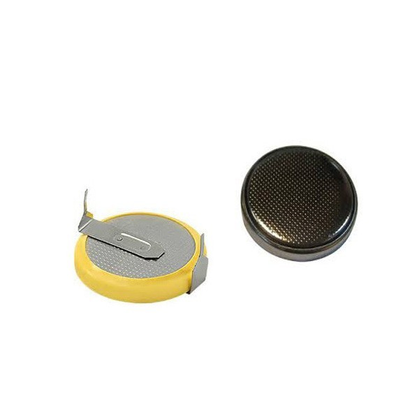 Popular in global market for lir2032 rechargeable button battery