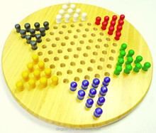 Wooden Toys chinese checkers game for the kids