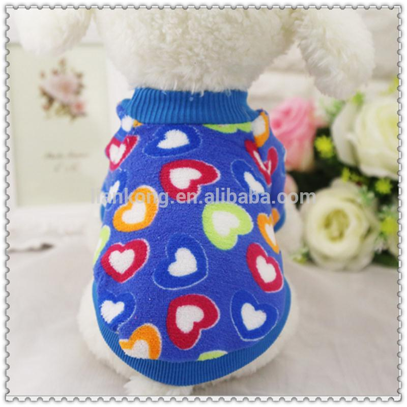 2017Cute design wholesale dog clothes dog products apparel pet clothes