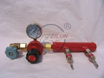 Acetylene Supply Device with guage