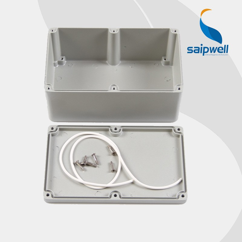 SAIPWELL/SAIP Customized IP65 Die Cast Electrical Waterproof Metal Aluminium Box for Electronic