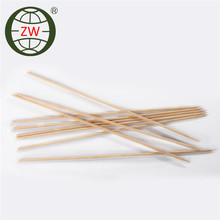 smooth bamboo bbq skewer, square bbq skewer