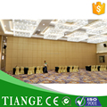 Hotel Folding Partitions Mobile Acoustic Wall Partition Movable Partition with Fabric Acoustic Panel