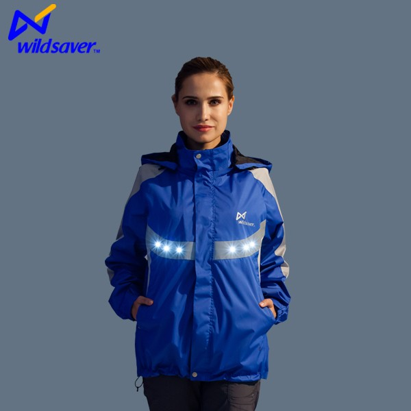 Niannianwang winter polyester sports women blue jacket