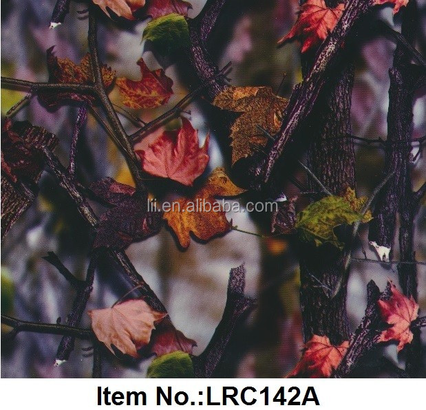 New Camo Pattern Water Transfer Printing Film ,Hydrographic Film,100cm Width No.LRC142A