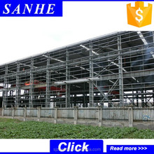 low cost steel structure prefab house workshop/plant/factory building/manufacture