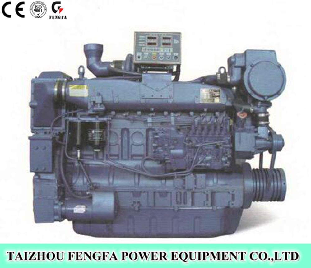 250kw 4 Stroke 3 phase Marine Main engine For sales