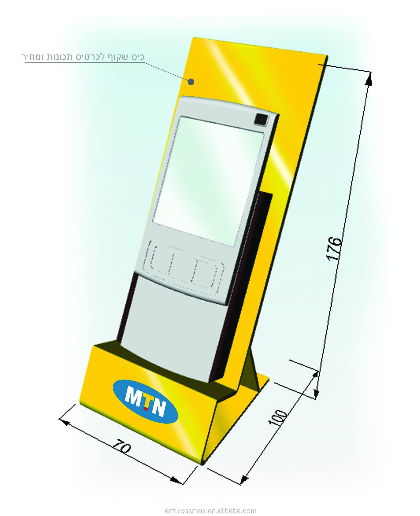 New product LED Lighted Acrylic Smart Mobile Phone Display Stand